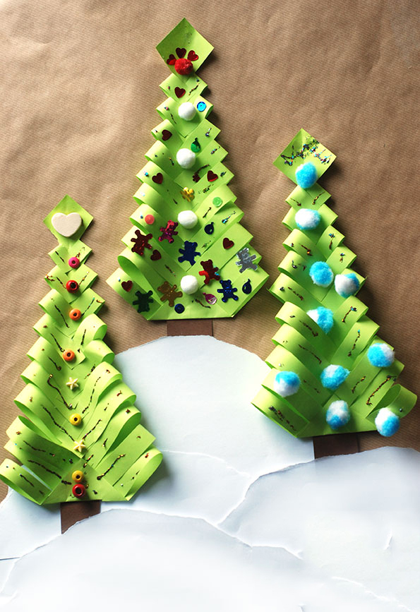 we hope you all loved this diy paper christmas tree which you can make in 6 easy steps - How To Make Paper Christmas Trees